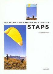 Methode Pour Reussir Ses Etudes En S.T.A.P.S. (Une) - Intérieur - Format classique