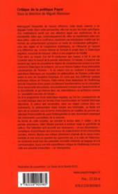 Essai sur T.W. Adorno - 4ème de couverture - Format classique