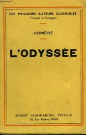 L'Odyssee. - Couverture - Format classique