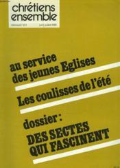 CHRETIENS ENSEMBLES, N°14, JUIN-JUILLET 1981. AU SERVICE DES JEUNES EGLISES / LES COULISSES DE L'ETE / DOSSIER: DES SECTES QUI FASCINENT / JEAN PAUL II ET LES DROITS DE L'HOMME / LES CONSEILS PASTORAUX DE CHEZ VOUS / L'EVANGILE DES PAUVRES AU XIIe SIECLE. - Couverture - Format classique