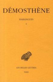 Harangues t.2 - Couverture - Format classique