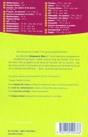 Sciences de la vie et de la terre 1ere s - 4ème de couverture - Format classique