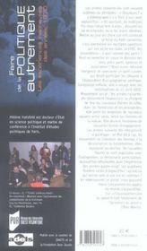 Faire De La Politique Autrement ; Les Experiences Inachevees Des Annees 1970 - 4ème de couverture - Format classique