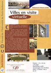 Villes En Visite Virtuelle - Couverture - Format classique