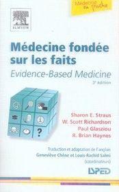 Médecine fondée sur les faits - Intérieur - Format classique
