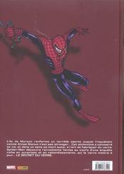 Spider-man ; le secret du verre - 4ème de couverture - Format classique