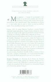 Souvenirs De Campagnes Du Sergent Faucheur Fourrier Dans La Grande Armee - 4ème de couverture - Format classique