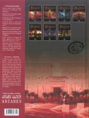 L'histoire secrète T.1 ; génèse - 4ème de couverture - Format classique
