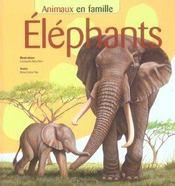 Animaux en famille ; elephants - Intérieur - Format classique
