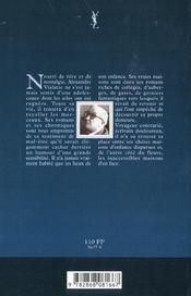 Alexandre Vialatte, des maisons d'enfance aux maisons d'en face - 4ème de couverture - Format classique