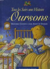Histoires d'ourson ; tous les soirs - Couverture - Format classique