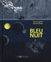 Bleu nuit - Couverture - Format classique