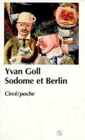 Sodome et berlin - Couverture - Format classique