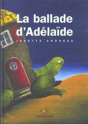 La balade d'Adélaïde - Intérieur - Format classique