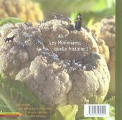 Le Jardin Des Minimiams - 4ème de couverture - Format classique