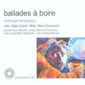Ballades a boire ; anthologie oenologique - Intérieur - Format classique