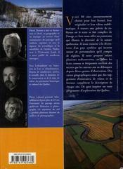 Québec ; 50 sites incontournables - 4ème de couverture - Format classique