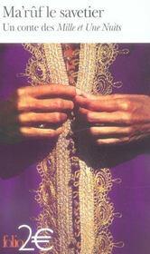 Ma'ruf le savetier - un conte des mille et une nuits - Intérieur - Format classique