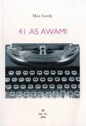 41 As Awami pour l'amour de torico - Couverture - Format classique
