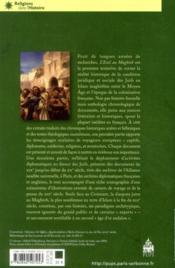 L'exil au Maghreb ; la condition juive sous l'Islam ; 1148-1912 - 4ème de couverture - Format classique