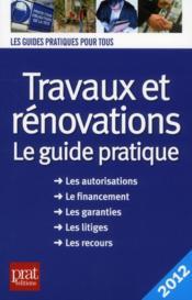 Travaux et renovations 2012 - Couverture - Format classique