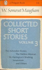 Collected Short Stories, Vol. 3 - Couverture - Format classique