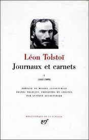 Journaux et carnets (tome 1-1847-1889) - Intérieur - Format classique