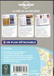 Marseille en quelques jours (5e édition) - 4ème de couverture - Format classique