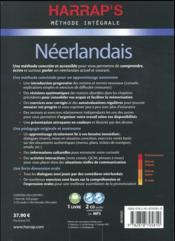 Méthode intégrale ; néerlandais - 4ème de couverture - Format classique