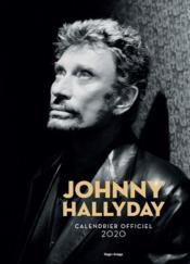 Calendrier ; Johnny Hallyday (édition 2020) - Couverture - Format classique
