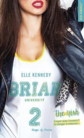 Briar université T.2 ; the risk - Couverture - Format classique