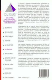 Stylistique - Couverture - Format classique