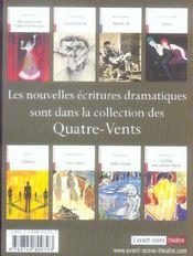 Revue L'Avant-Scene Theatre ; Boulevard Du Boulevard Du Boulevard - 4ème de couverture - Format classique