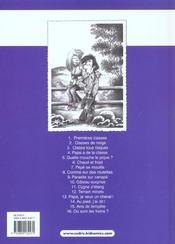 Cédric T.16 ; où sont les freins ? - 4ème de couverture - Format classique