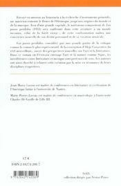 Synthèse sur le Partage des eaux, d'Alejo Carpentier - 4ème de couverture - Format classique