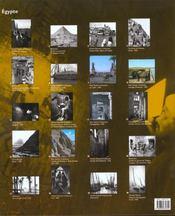 Coffret Egypte - 4ème de couverture - Format classique
