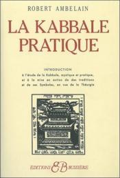 La kabbale pratique - Couverture - Format classique