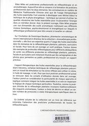 Les cahiers pratiques d'aromathérapie selon l'école française t.6 ; réflexologies - 4ème de couverture - Format classique