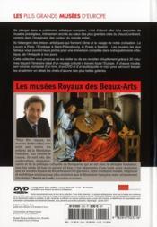 Les musées royaux des beaux-arts, Bruxelles - 4ème de couverture - Format classique