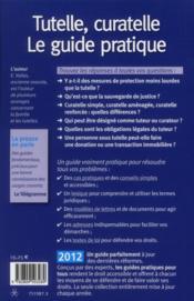 Tutelle Curatelle 2012 - 4ème de couverture - Format classique