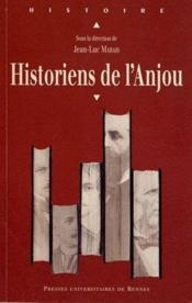 Historiens de l'Anjou - Couverture - Format classique