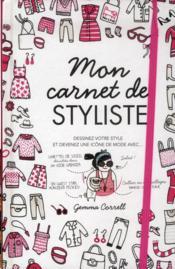 Mon carnet de styliste - fashion fantasmes - Couverture - Format classique