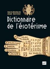 Dictionnaire de l'ésotérisme (2e édition) - Couverture - Format classique