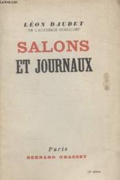 Salons Et Journaux. - Couverture - Format classique