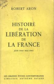 Histoire De La Liberation De La France. - Couverture - Format classique