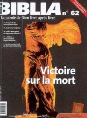 Bib 62 Victoire Sur La Mort - Couverture - Format classique