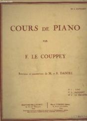 Cours De Piano - N° 2 : Alphabet. - Couverture - Format classique