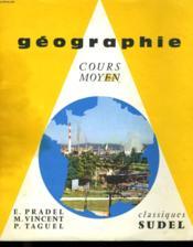 Geographie - Cours Moyen - Couverture - Format classique