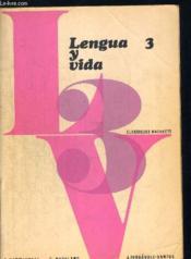 Lengua Y Vida 3 - Couverture - Format classique