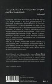 Le réseau fantôme - 4ème de couverture - Format classique